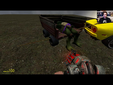 Gmod TEENAGE MUTANT NINJA TURTLES Mod!