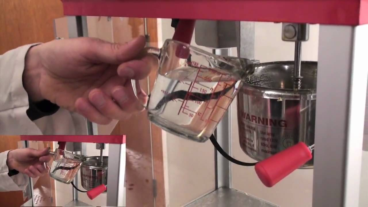 how to clean a popcorn machine kettle