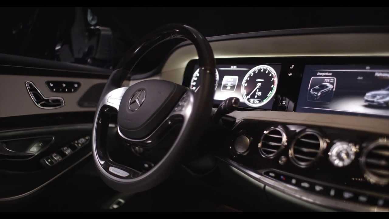 Mercedes S Class 2014 Interior S400 Hybrid W222 In Detail