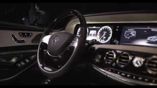 Mercedes S Class 2014 Interior S400 Hybrid W222 In Detail Commercial Carjam TV HD