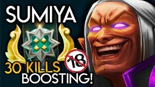 Sumiya Invoker God BOOSTING Archon Medal Account +18 Only Destroy Dota 2