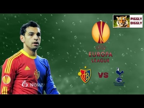 Tottenham Hot Spur  Vs FC Basel  - Mohamed Salah - Egyptian Talent