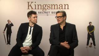 Kingsman: The Secret Service - Colin Firth and Taron Egerton interview | Empire Magazine