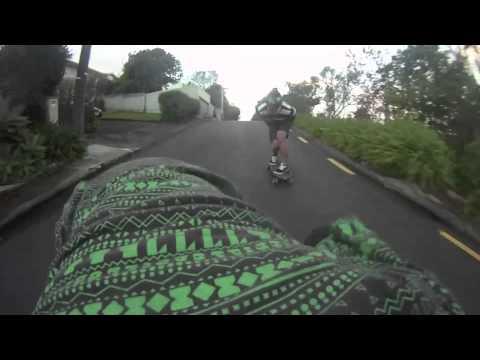 Longboarding NZ - Go pro