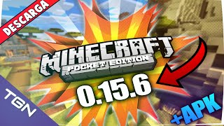 Minecraft PE 0.15.6 Oficial APK + Descarga
