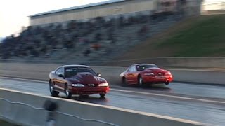 NEVER GIVE UP - 3000hp Twin Turbo Mustang comeback(original footage)