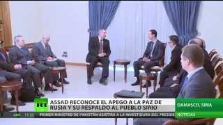 video El presidente de Siria, Bashar al Assad, dijo que al bloquear la resolución del Consejo de Seguridad de la ONU sobre su país, Rusia no solo salvó a Siria, sino a todo Oriente Medio.