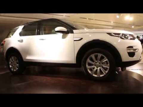 Land Rover Discovery Sport Launched In India - Hybiz.tv