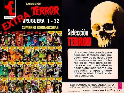 Selección Terror EXTRA de Bruguera. Números del 01 al 32