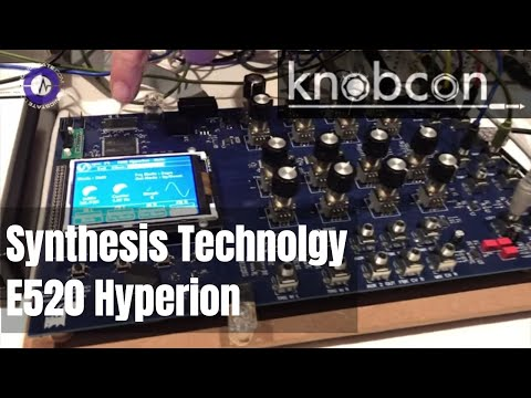 Knobcon 2019: Synthesis Technology E520 Hyperion - New Stereo Audio Processor