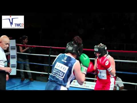 Saxo Capital Markets Asia Cup 2012: Bout 2 - EMMA KNIBBS vs MONICA BORSCHEL