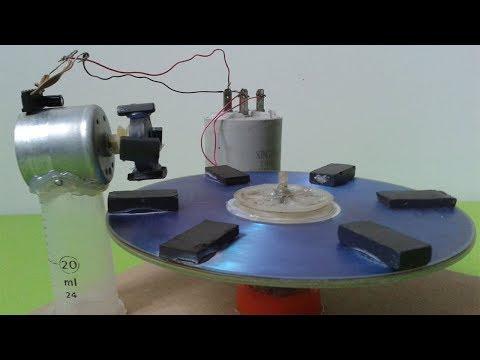 Free Energy Science Experiment Self Running Machine