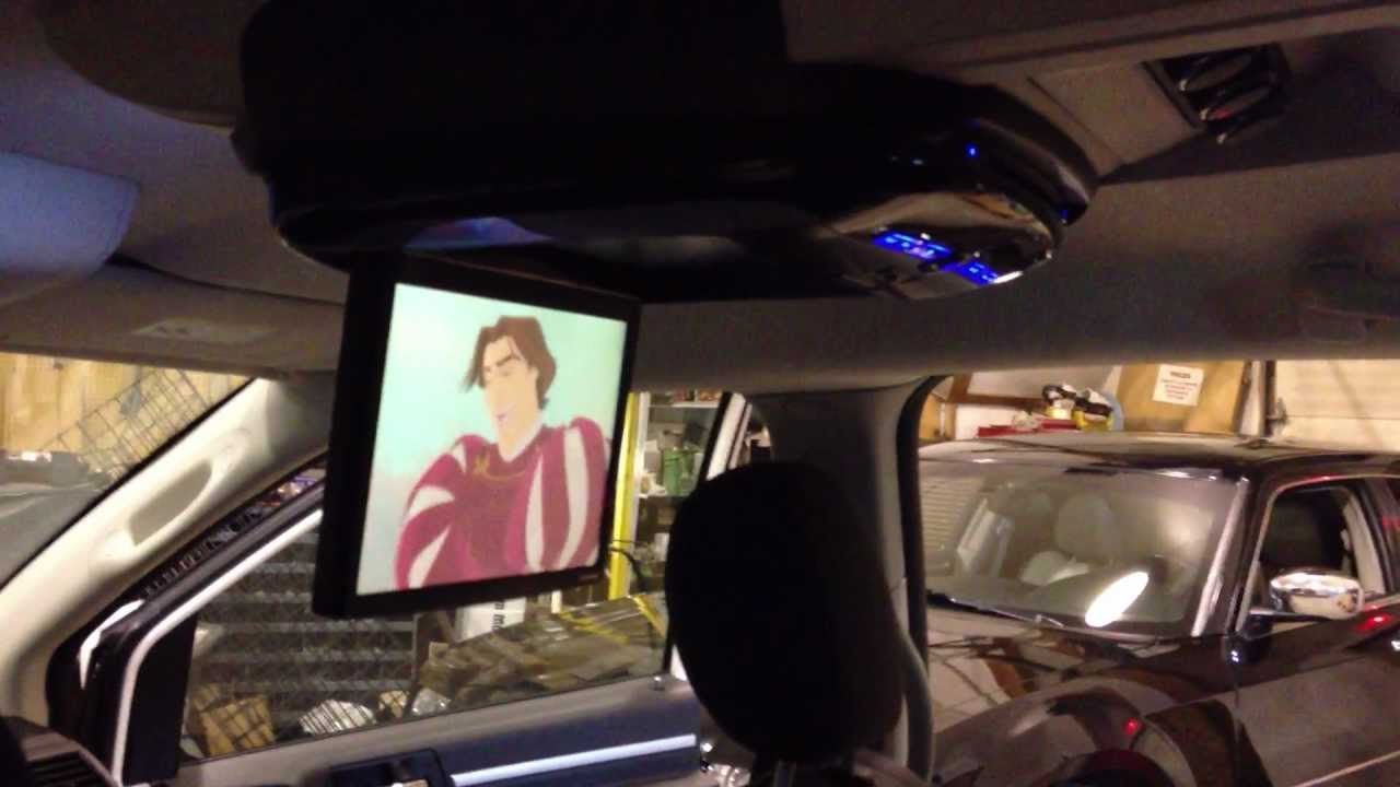 Alpine 10 2 Quot Dvd Flipdown Monitor Install 2008 Dodge