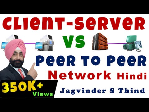 Peer to Peer Vs Client Server Network - Networking part 3