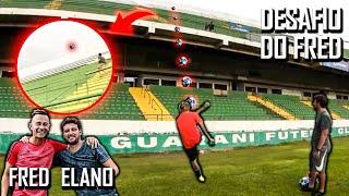 Desafio impossível - Chutando a bola pra fora do estádio!