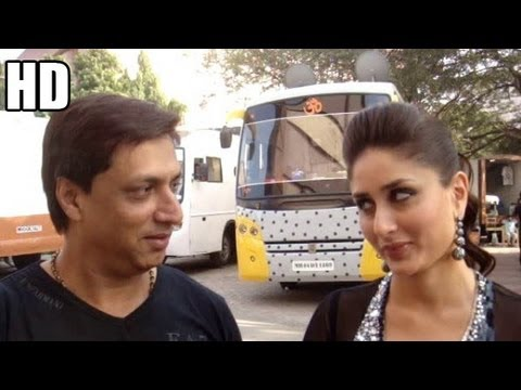 From the sets of HEROINE - Madhur Bhandarkar in talk with Kareena Kapoor