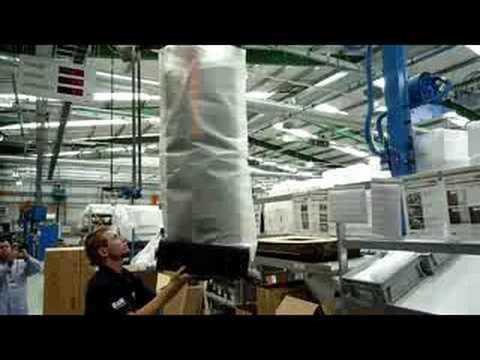 Fabrica B&W - Linha de montagem Serie Diamond