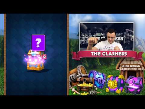 Clash Royale - ЛЕГЕНДАРЕН Chest Opening