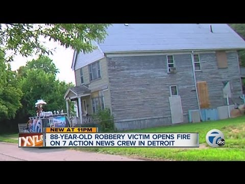 88-year-old Robbery Victim Opens Fire on 7 Action News Crew in Detroit