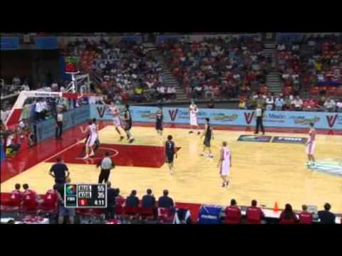 Russia Vs. South Korea / 2012 FIBA Olympic Qualifying Tournament