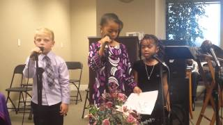 Kids Singing My God Is Awesome @ HGCC