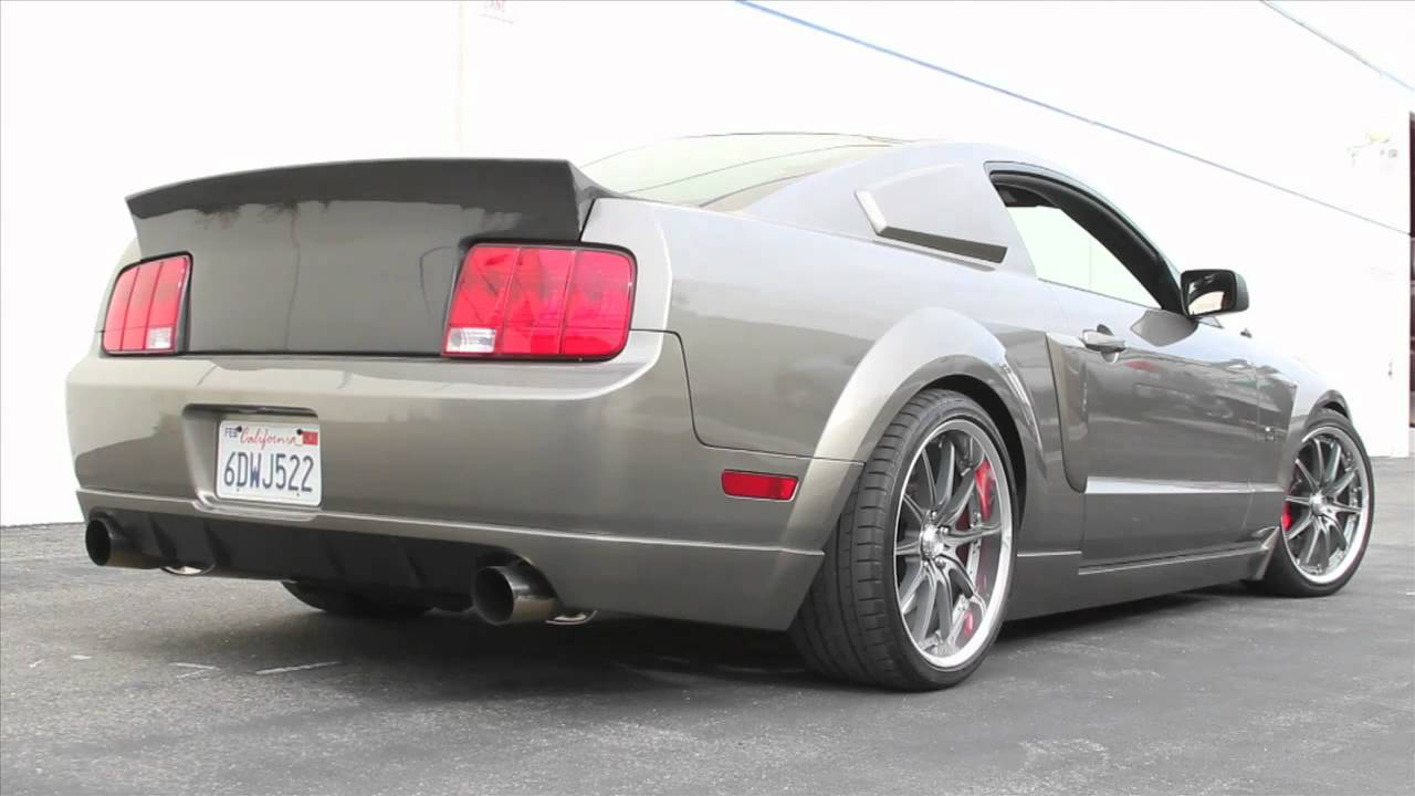 Tein Mustang Gt Exhaust Sound Youtube