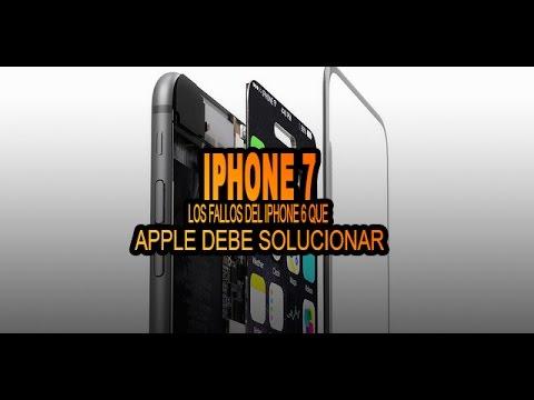iPhone 7, 3 fallos o errores que Apple debe solucionar para su nuevo iPhone