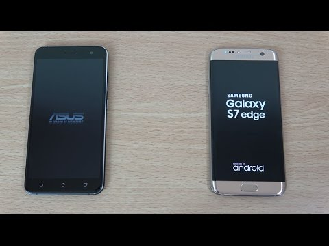 Asus Zenfone 3 vs Samsung Galaxy S7 Edge - Speed & Camera Test!