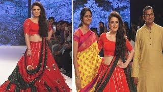 Radhika Madan Ramp Walk For Bombay Times Fashion Week | Latest Ramp Walk Video 2018