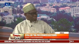 Election Outcome Would Have Been Terrible If Held - INEC Nat'l Commissioner Pt.2 |Sunrise Daily|