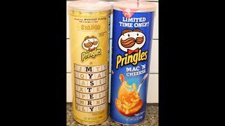 Pringles: Mystery Flavor & Mac 'N Cheese Potato Crisps Review