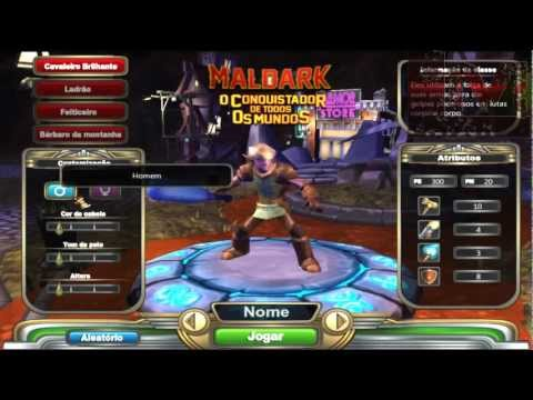 Watch GamePlay Maldark O Conquistador de Todos os Mundos - GamePlay Maldark: O Conquistador de Todos os Mundos (Level Up)