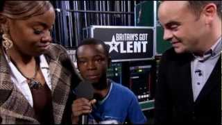Malaki Paul - Listen (Both Auditions in Full) (Britain