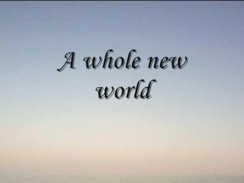 A Whole New World with Lyrics