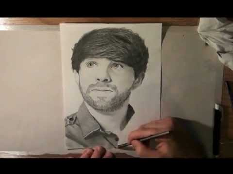 Ian Hecox from Smosh Speed Drawing