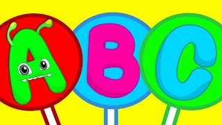 ABC song for kids - Learn the alphabet with Groovy The Martian nursery rhymes & educational videos