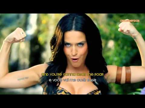 Katy Perry Roar Musicvideo Legendado   Lyrics video