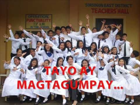 Graduation Song - Panibagong Bukas With Lyrics video