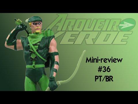 Mini Review #36 - Miniaturas DC - Arqueiro Verde - PT/BR