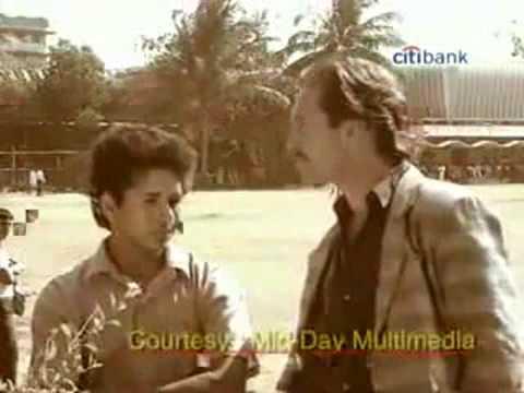 young sachin tendulkar 1st interview ever intervied by tom alter