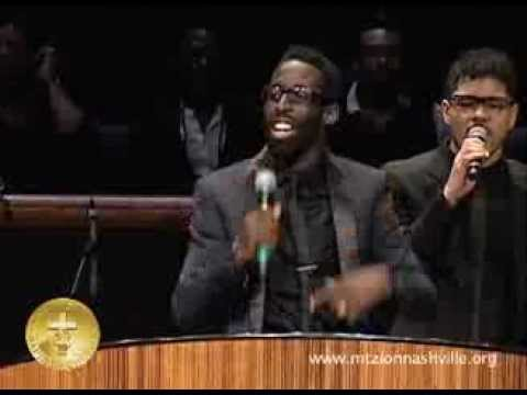 Tye Tribbett Ministers at Mt.Zion Nashville Stellar week 2013