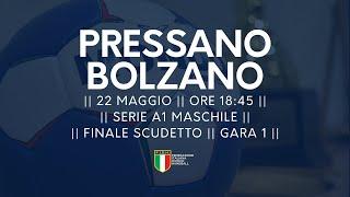 Serie A1M [Finale G1]: Pressano - Bolzano 21-28