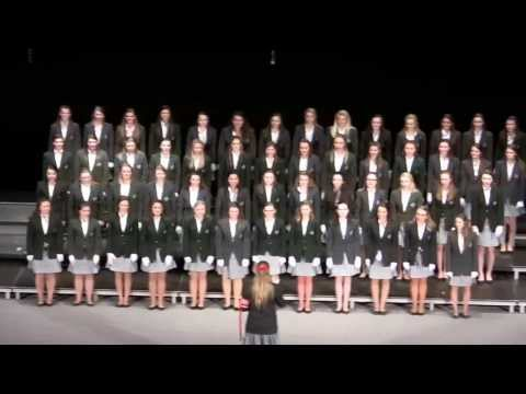 Saint Gertrude High School Song Contest, 2014 - Red & White