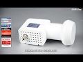 Unicable LNB   DUR Line UK 124   Für 24 Teilnehmer über 1 Kabel