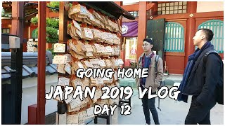 Japan 2019 Vlog - Day 12 Final Day Going Home
