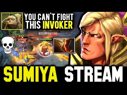 It's Normal that You Can't Fight This Invoker | SUMIYA Invoker Stream Moments #605
