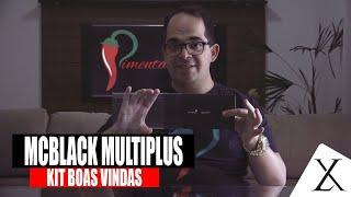 Kit de Boas Vindas Mastercard Black Multiplus Itaucard Cartão de Crédito sem Limite - Luxuosidades
