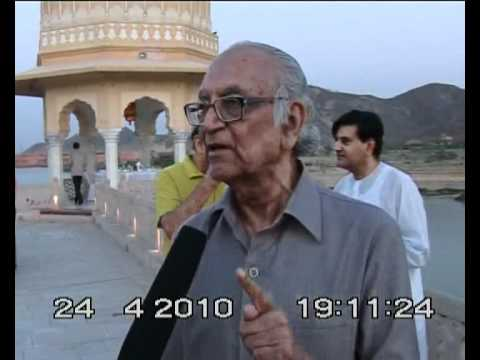 Retired justice expressed discontentment for negative publicity of jal mahal project.avi