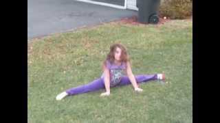 Baylee's audition for seven gymnastics girls