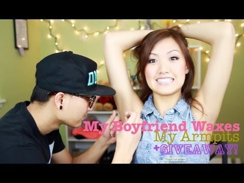 TAG: My Boyfriend Waxes My Armpits